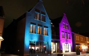 gevel verlichting LED RGB